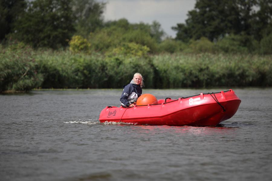 Sportieve Motorboot 5p.