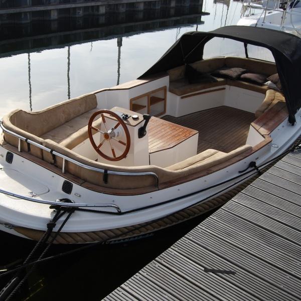 Beste Luxe 10 persoons Tender - Sloep - Zeewolde - botentehuur.nl ZD-57