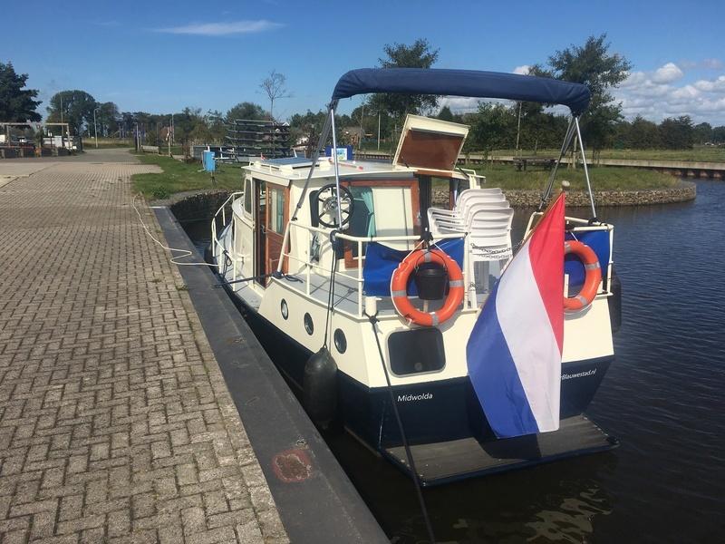 Kajuitmotorboot 4 pers.